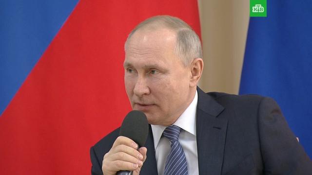 Путин: ответственность за доставку контрафактных товаров при продаже онлайн усилят.Путин, болезни, коронавирус, медицина, экономика и бизнес, эпидемия.НТВ.Ru: новости, видео, программы телеканала НТВ