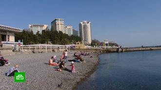 Черноморские курорты временно закрываются для туристов