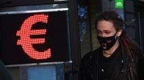 Курс евро превысил 87 рублей.Доллар и евро продолжили рост на Московской бирже. В ходе торгов курс евро вырос на 2% к уровню закрытия предыдущих торгов и превысил 87 рублей..биржи, валюта, доллар, евро, нефть.НТВ.Ru: новости, видео, программы телеканала НТВ
