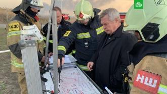 Власти Ростовской области назвали причину крупного пожара