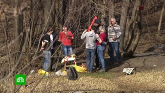 Москвичи впервый день карантинных выходных массово вышли впарки на шашлыки