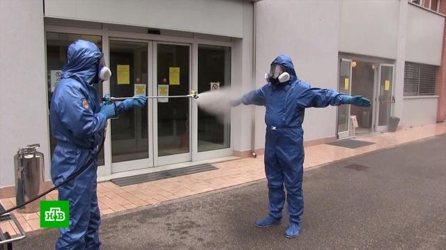 На севере Италии российские военные провели дезинфекцию пансионатов ибольниц.Италия, армия и флот РФ, болезни, здравоохранение, эпидемия.НТВ.Ru: новости, видео, программы телеканала НТВ