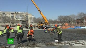 Новые медцентры вНижнем Новгороде иПодмосковье строятся сопережением графика