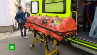 Скорая для перевозки пациентов с коронавирусом появилась в Крыму