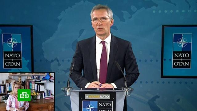 Генсек НАТО оценил отправку российских военврачей вИталию.Италия, НАТО, болезни, карантин, коронавирус, эпидемия.НТВ.Ru: новости, видео, программы телеканала НТВ