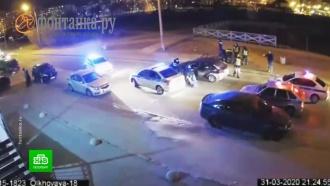 Пьяного питерского лихача ловили сразу девять патрулей ГИБДД