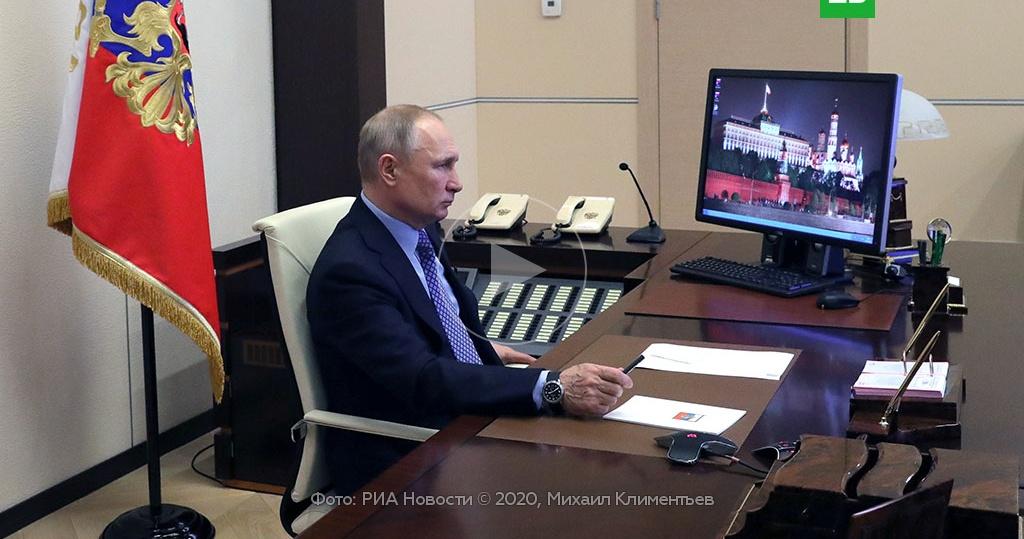 Путин: ситуация с коронавирусом в РФ осложняется