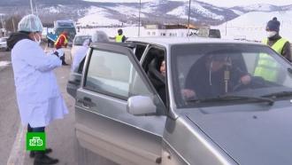 В Сибири решили строго ограничить «безответственные поездки» между регионами.НТВ.Ru: новости, видео, программы телеканала НТВ