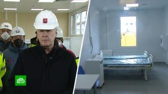 Инфекционный центр в Новой Москве: как возводят корпуса новой больницы