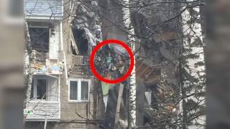 Очевидцы взрыва в<nobr>Орехово-Зуево</nobr> спасли мальчика, застрявшего между разрушенными этажами