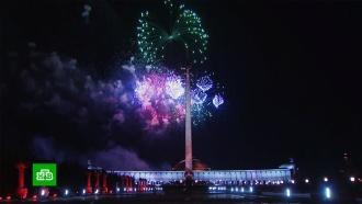 ВМоскве 75-летие освобождения Братиславы отметили салютом.НТВ.Ru: новости, видео, программы телеканала НТВ