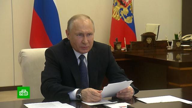 Путин: пик эпидемии коронавируса еще не пройден.Путин, болезни, коронавирус, эпидемия.НТВ.Ru: новости, видео, программы телеканала НТВ