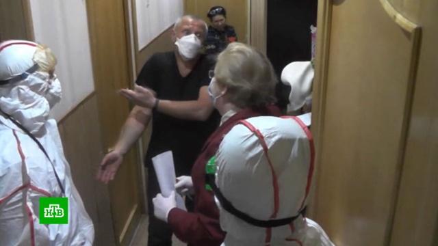 Петербургская полиция штрафует и отправляет на карантин нарушителей самоизоляции.Санкт-Петербург, карантин, коронавирус, полиция, штрафы, эпидемия.НТВ.Ru: новости, видео, программы телеканала НТВ