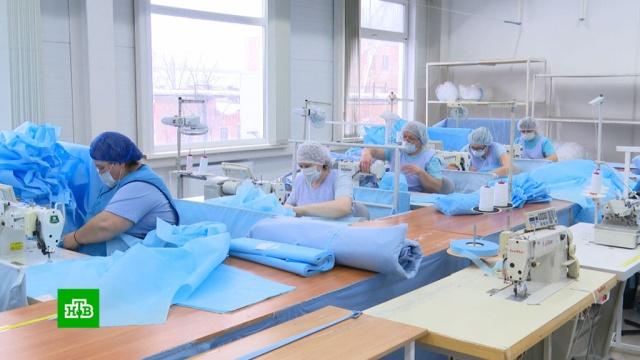 Ученые из Новосибирска изобрели медицинские маски ссеребром.Новосибирск, болезни, коронавирус, медицина, эпидемия.НТВ.Ru: новости, видео, программы телеканала НТВ
