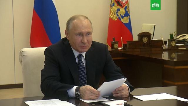 Сокращение нерабочих дней Путин обсудит со специалистами.коронавирус, Путин, эпидемия, работа.НТВ.Ru: новости, видео, программы телеканала НТВ