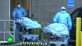 ВСША за сутки умерли почти 1800пациентов с<nobr>COVID-19</nobr>