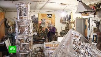 Как самоизоляция благотворно влияет на творчество.Использовать самоизоляцию для творчества давно практикуют петербургские скульпторы и художники. Пожалуй, для мастеров именно отсутствие внешних раздражителей является одним из главных условий для плодотворной работы.Санкт-Петербург, живопись и художники, карантин, коронавирус, скульптура.НТВ.Ru: новости, видео, программы телеканала НТВ