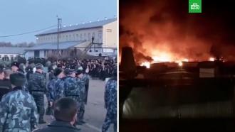 СМИ: виркутской колонии произошли столкновения заключенных со спецназом
