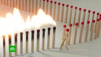 Борьба с<nobr>COVID-19</nobr>: <nobr>3D-аниматоры</nobr> на спичках объяснили необходимость самоизоляции