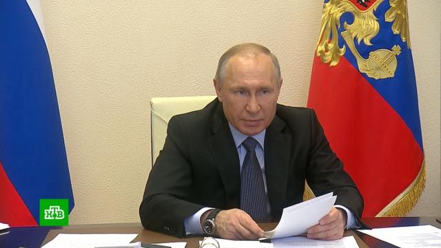Путин заявил об ухудшении ситуации сCOVID-19 вРоссии.Минобороны РФ, Путин, болезни, врачи, коронавирус, медицина, эпидемия.НТВ.Ru: новости, видео, программы телеканала НТВ