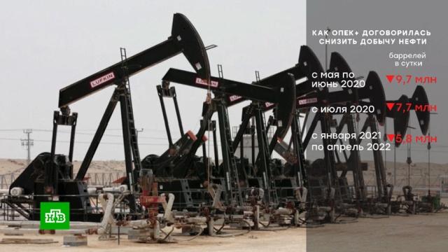 Кремль: сделка ОПЕК+ предотвратила хаос на рынке нефти.ОПЕК, биржи, нефть, тарифы и цены.НТВ.Ru: новости, видео, программы телеканала НТВ
