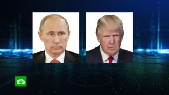 Трамп поблагодарил Путина за работу над сделкой ОПЕК+