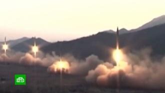 КНДР запустила ракеты в сторону Японского моря
