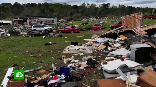 Серия разрушительных торнадо в США унесла жизни 30 человек.США, стихийные бедствия, штормы и ураганы.НТВ.Ru: новости, видео, программы телеканала НТВ