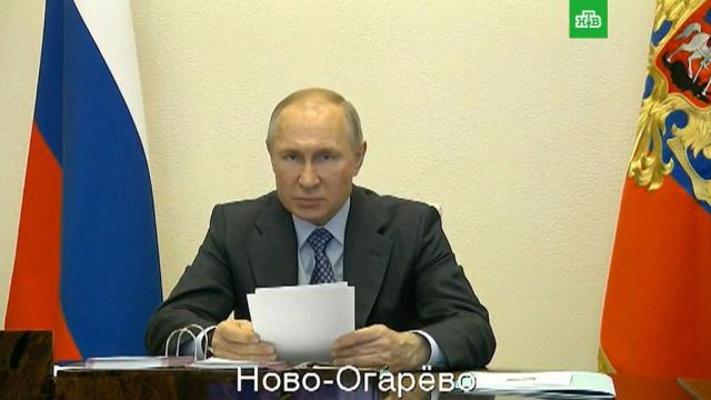Путин: розничная торговля вРоссии упала на 35%.Путин, болезни, коронавирус, медицина, торговля, экономика и бизнес, эпидемия.НТВ.Ru: новости, видео, программы телеканала НТВ