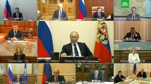 Путин предложил направить более 23млрдруб. на поддержку авиаотрасли.Путин, авиакомпании, безработица, коронавирус, правительство РФ, работа, экономика и бизнес.НТВ.Ru: новости, видео, программы телеканала НТВ