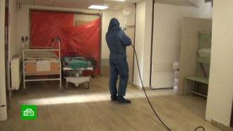 Российские военные составили план дезинфекции больниц Сербии