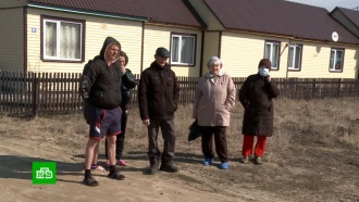 ВПензенской области семьи из аварийного жилья переселили встроительные бытовки