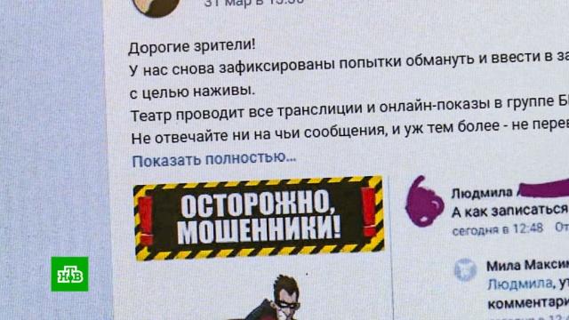 Как «коронавирусные» мошенники наживаются на россиянах.авиакомпании, коронавирус, Липецкая область, мошенничество, Пермский край, театр, эпидемия.НТВ.Ru: новости, видео, программы телеканала НТВ