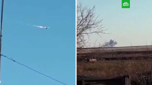 Крушение МиГ-31 в Казахстане попало на видео.Казахстан, авиационные катастрофы и происшествия, армии мира.НТВ.Ru: новости, видео, программы телеканала НТВ