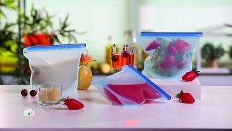 Силиконовые <nobr>мешочки-контейнеры</nobr>: безопасноли хранить иготовить вних пищу