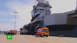 Заражено две трети экипажа: Франция лишилась флагмана военного флота
