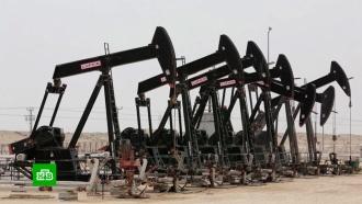 Цена нефти WTI опускалась до минус $40