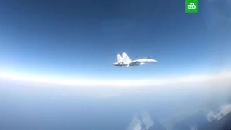<nobr>Самолет-разведчик</nobr> США кружил недалеко от российских объектов вСирии