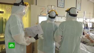 Российские военные приступили кдезинфекции сербских больниц