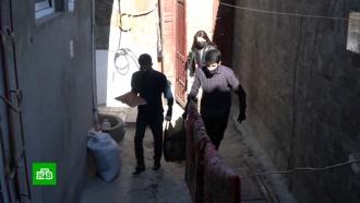 Волонтеры снабжают продуктами жителей Дербента