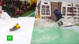 Участник шуточного конкурса в горах Сочи будет судиться из-за полученной травмы