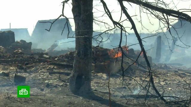 Жара, ветер иранний дачный сезон спровоцировали лесные пожары.Сибирь, лесные пожары.НТВ.Ru: новости, видео, программы телеканала НТВ