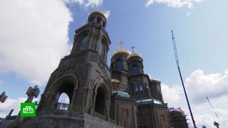 Убранство главного собора ВС РФ отражает историю побед российского оружия