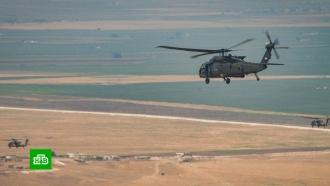 Российские военные патрулируют своздуха зону турецкой военной операции вСирии