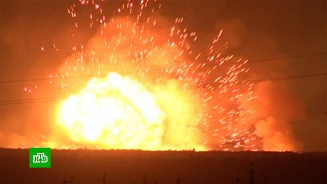 Возгорание травы спровоцировало взрывы на территории бывшего военного арсенала в Удмуртии.Удмуртия, армия и флот РФ, взрывы, лесные пожары, оружие, пожары.НТВ.Ru: новости, видео, программы телеканала НТВ