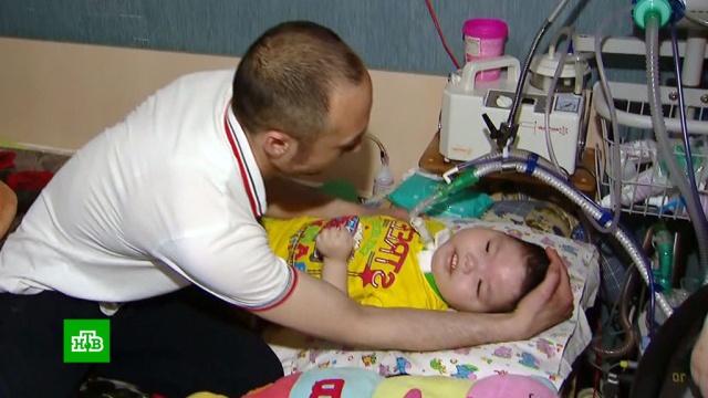 Трехлетнему Тимуру нужны деньги на расходные материалы для аппарата ИВЛ.SOS, благотворительность, болезни, дети и подростки, здоровье.НТВ.Ru: новости, видео, программы телеканала НТВ