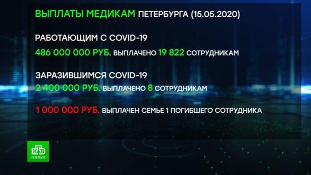 Петербургские врачи начали получать выплаты за работу в пандемию.Санкт-Петербург, здравоохранение, работа, медицина, врачи, эпидемия, зарплаты, коронавирус.НТВ.Ru: новости, видео, программы телеканала НТВ