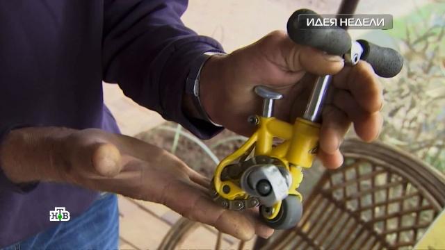 Идея недели: инструмент для лечения компрессионных переломов позвоночника.НТВ.Ru: новости, видео, программы телеканала НТВ