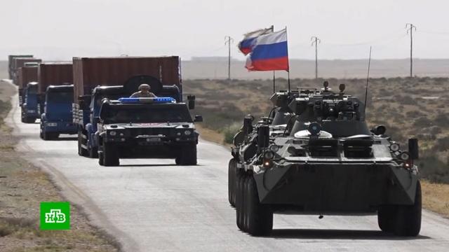 Вотдаленные районы Сирии российские военные доставили гуманитарный груз.Сирия, армия и флот РФ, войны и вооруженные конфликты, гуманитарная помощь.НТВ.Ru: новости, видео, программы телеканала НТВ