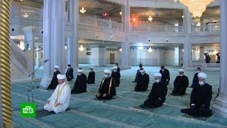 Службы вмечетях при закрытых дверях: как мусульмане отмечают <nobr>Ураза-байрам</nobr>